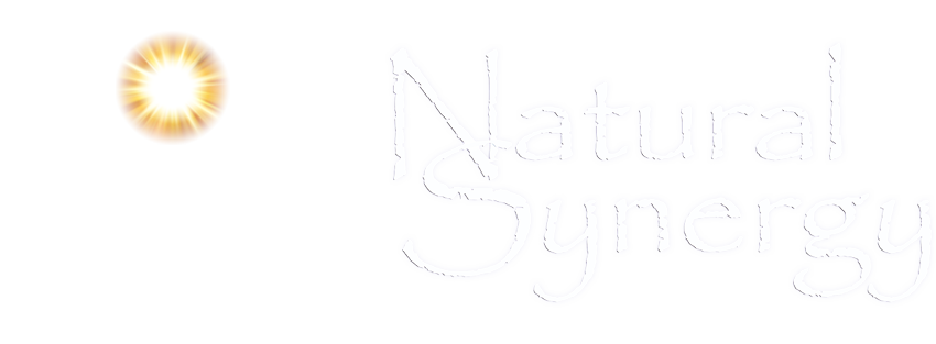 natural synergy cure white logo